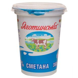 Yagotinskoe, Sour cream, 15%, 350 g