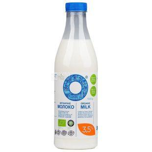 Молоко, 3,5%, 1000 г, ТМ Organiс milk