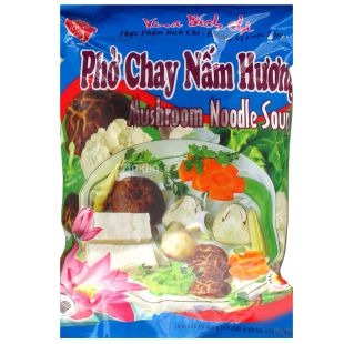Bich Chi, 60 г, Лапша рисовая со вкусом грибов Бич Чи