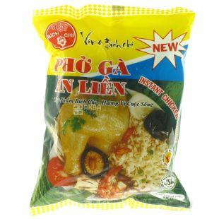 Bich Chi, 60 г, Локшина рисова зі смаком курки Бич Чи