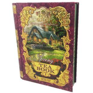 Sun Gardens, Tea Book Spring, Volume 1, Чай Чай Сан Гарденс, Книга Весна, Том 1, черный, крупнолистовой