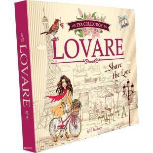 Lovare, 90 пак., Чайный Набор Ловаре, Портфельчик