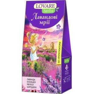 Lovare, 20 пак., Чай Ловаре, Лавандовые мечты, Травяной