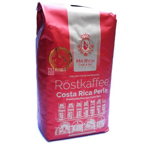 Mr.Rich Сosta Rica, 500 г, Кава Містер Річ Коста-Ріка, середнього обсмаження, в зернах