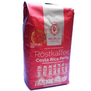 Mr.Rich Сosta Rica, 500 г, Кофе Мистер Рич Коста-Рика, средней обжарки, в зернах