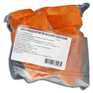 Тыква нарезанная ломтиками, 500 г, вакуумная упаковка