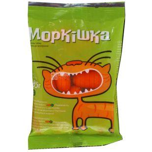 ТМ Моркишка Морковь шлифованная, палочки, 85 г,