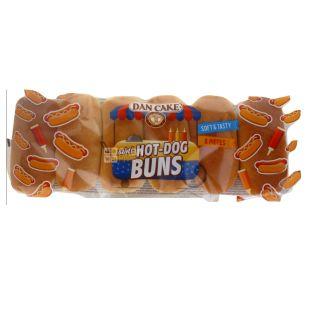 ТМ Dan Cake ,Булочки міні для хот-догів, 6 шт, 240 г