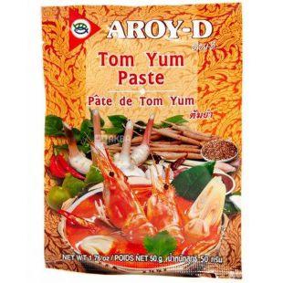 Паста Том Ям, 50 г, ТМ Aroy-D
