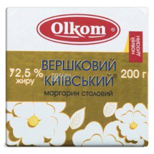 Olkom, Маргарин сливочный киевский, 72,5%, 200 г