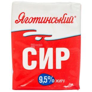 Яготинский, Творог кисломолочный, 9,5%, 200 г