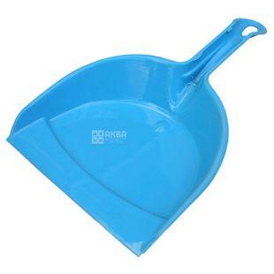 Krion Plus, Совок хозяйственный для уборки, пластик, ассорти, 225х350 мм
