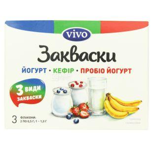 Vivo, Набор бактериальных заквасок, 0,5 г