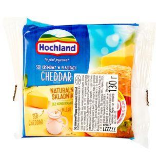 Hochland, Сыр плавленый чеддер, 130 г