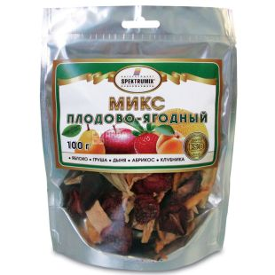 Fruit and berry mix, 100 g, TM Spektrumix