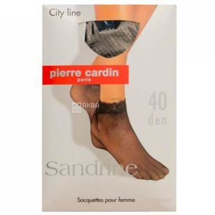 Pierre Cardin Sandrine, Шкарпетки жіночі сіро-коричневі, 40 ден