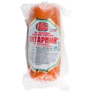 Янтарный, Сыр плавленный, копчёный, 50%, 400 г