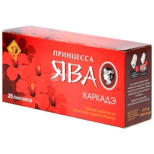 Принцеса Ява, Каркаде, 25 пак., Чай фруктово-квітковий