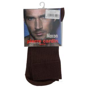 Pierre Cardin Macon, Носки мужские коричневые, 41-42 размер