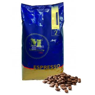Галка, Espresso Macchiato Coffee, 1 кг, Кофе Эспрессо Макиато, темной обжарки, в зернах