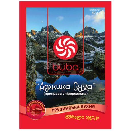 Аджика суха, 40 г, ТМ Buba
