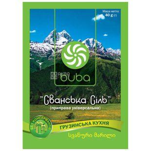 Buba, Сванська сіль, 40 г
