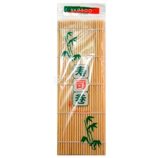 Коврик для суши, бамбуковый, 24 см