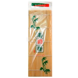 Sushi mat, bamboo, 24 cm