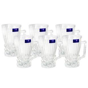 Olens, Набір чашок Класик скляних на 6 персон, 200 мл
