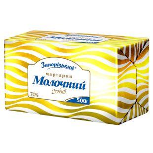 Запорожский, Маргарин Молочный особый, 70%, 500 г