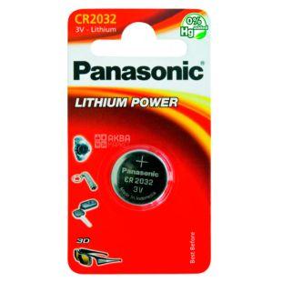 Panasonic, Батарейка CR 2032 BLI 1 Lithium