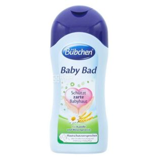 Bubchen, 1000 ml, Baby bath, With chamomile extract
