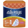 Always Classic Normal Single, Sanitary pads, 9pcs, soft pack