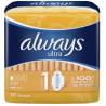 Always Ultra Light, Гігієнічні прокладки, 10 шт, м'яка упаковка