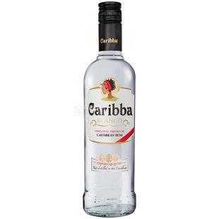 Caribba Blanco, Ром 37,5%, 1 л