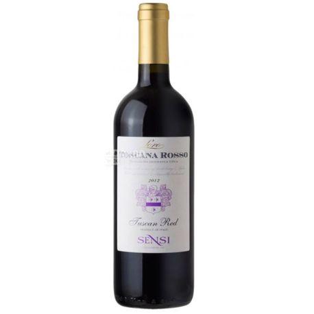 Sensi Collezione Sangiovese, Вино красное сухое, 13%, 0,75 л