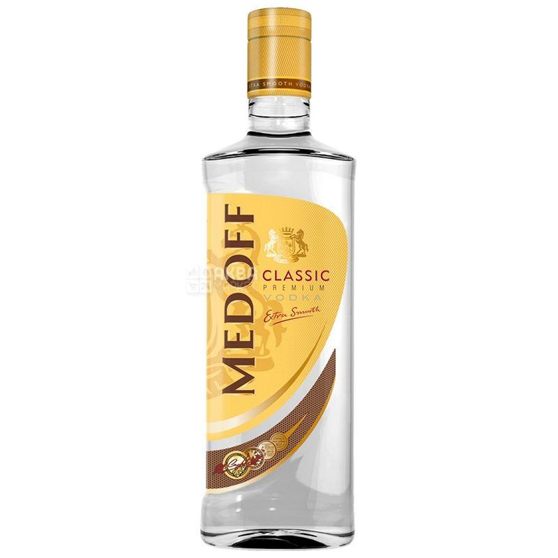 Medoff Classic Premium, Водка 40%, 0,5 л