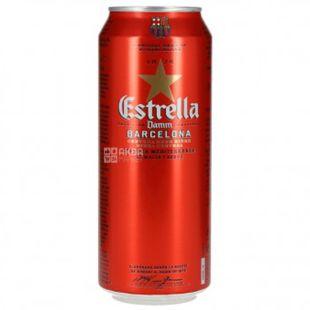 Estrella Damm Barcelona, Пиво солодовое, 4,6%, 0,5 л