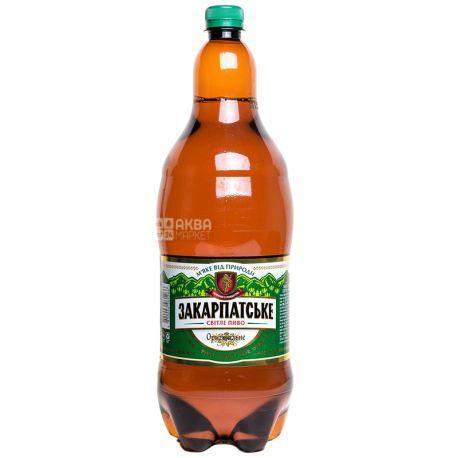 Пиво светлое, 2 л, ТМ Закарпатское