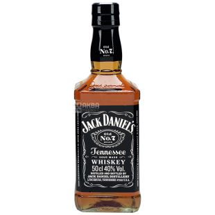 Jack Daniel's, Whiskey 40%, 0.5 L