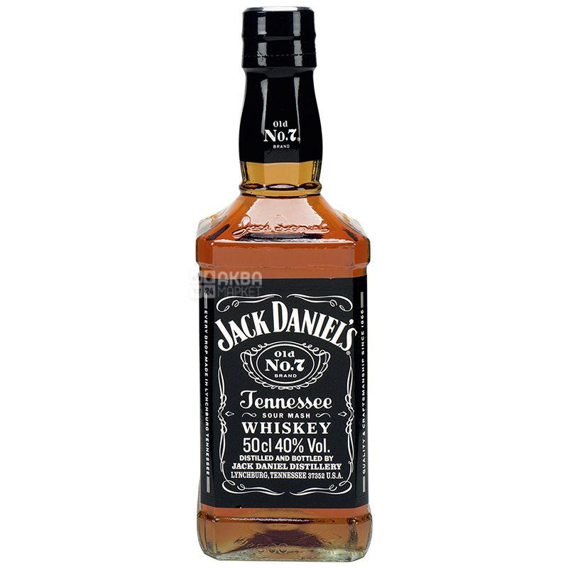 Jack Daniel's, Виски 40%, 0,5 л