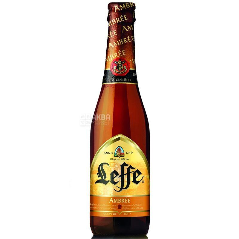 Leffe Ambree, Пиво светлое, 6,6%, 0,33 л