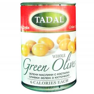 TADAL, Pitted Olives, 300 g