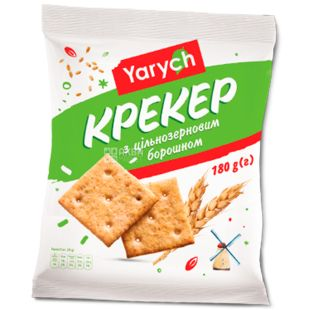 Yarych, wholegrain cracker, 180 g, m / s