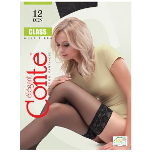 Conte Class, Панчохи чорні 20 ден, розмір 3-4