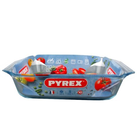 Pyrex Irresistible, Форма для запекания, прямоугольная, 31х20х6 см
