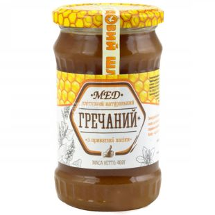 Honey buckwheat, 400 g, TM Honey way