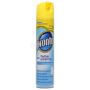 Pronto, Anti-Dust and Anti-Allergen, Furniture Spray, 250 ml