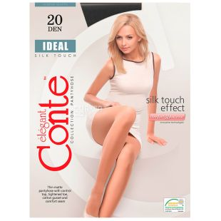 Conte Ideal, Black Women tights, 4 size, 20 den