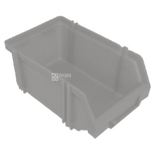 Capacity for products, plug-in, transparent, 375x235x175 mm, TM Kryon Plus